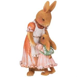 """Статуэтка """"Крольчиха и крольчонок"""""""