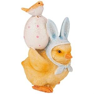 """Статуэтка """"Цыпленок с яйцом"""""""