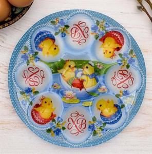 Блюдо для яиц пасхальное