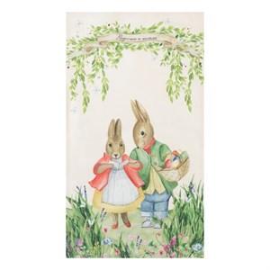 """Полотенце кухонное """"Пасхальные кролики"""""""