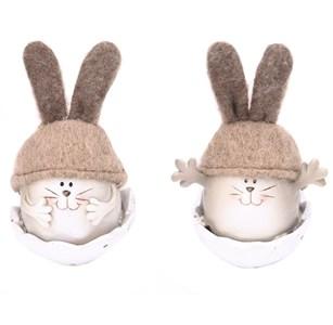 """Статуэтка """"Кролик в яйце"""" в ассортименте, цена за штуку"""