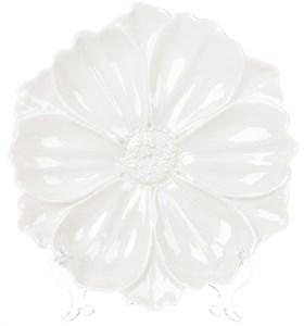 """Блюдо """"Белый лист"""" 19 см"""