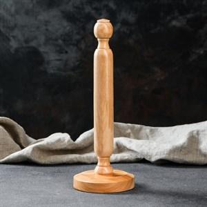 Держатель бумажных полотенец деревянный