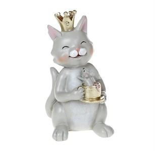 """Статуэтка """"Кот с мышкой"""""""