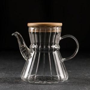 Чайник стеклянный заварочный 600 мл