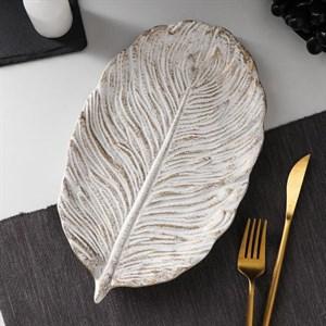 Блюдо деревянное 30?18 см
