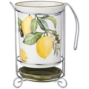 """Подставка под кухонные приборы """"Лимоны"""""""