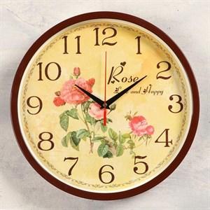 """Часы настенные """"Винтажные розы"""" 30 см"""