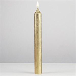 Свеча золотистая 2х17 см