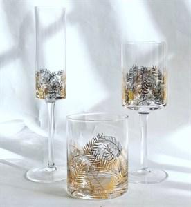 """Бокал для шампанского """"Золотые листья"""" 170 мл"""