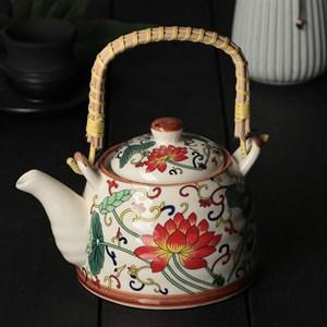 """Чайник заварочный """"Цветы"""" 500 мл с ситом"""