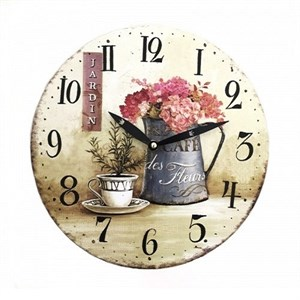 """Часы настенные """"Сад"""" 2"""