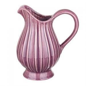 Кувшин керамический розовый
