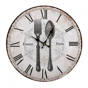 """Часы настенные """"Столовые приборы"""""""