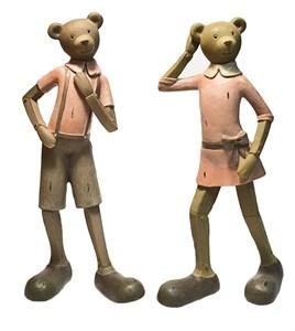 """Набор статуэток """"Веселые медвежата"""""""