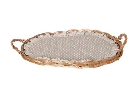 Корзинка для хлеба с салфеткой