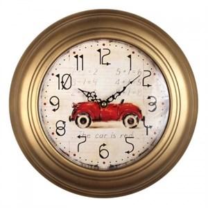 """Часы настенные """"Красная машина"""""""
