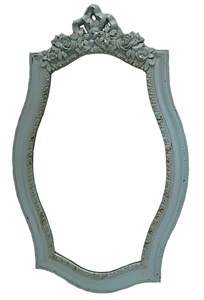 Зеркало настенное бирюзовое