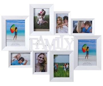 "Фоторамка ""Семейная"" на восемь фото"