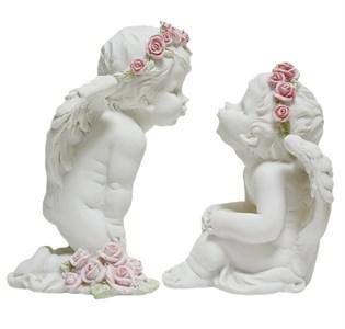 """Набор статуэток """"Влюбленные ангелы"""""""