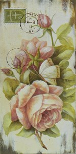 """Панно """"Розы"""" вертикальное"""