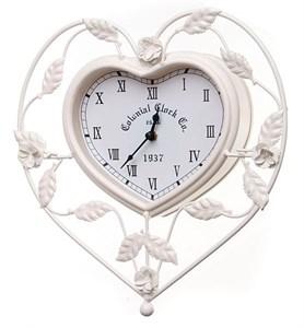 """Часы настенные """"Сердце"""" металлические"""