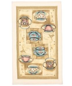 """Полотенце кухонное """"Чайный сервиз"""" 35х61 см, 100% хлопок"""