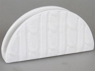 Салфетница керамическая вязанная