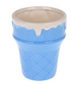"Креманка-стакан ""Мороженное"" синяя"