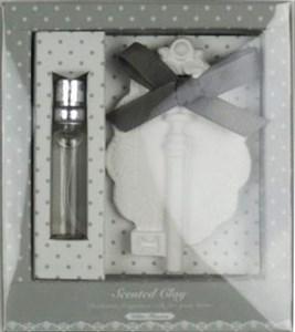 Ароманабор в подарочной упаковке с запахом морской свежести: аромамасло, ароматизатор