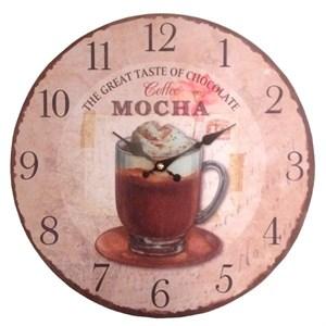 """Часы настенные """"Лучший кофе"""""""