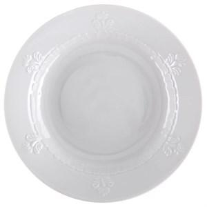 "Тарелка суповая ""Белые лепестки"""