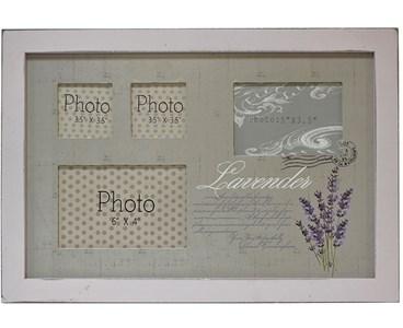 """Фоторамка """"Лаванда"""" на четыре фотографии: 14х9 см, 12х8 см, 6х6 см"""