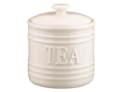 """Банка для хранения """"Чай"""" 750 мл белая"""