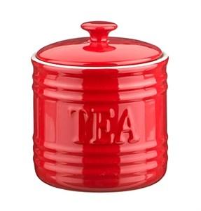 "Банка для хранения ""Чай"" 750 мл красная"