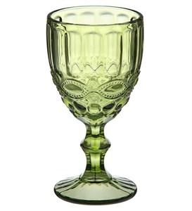 """Бокал """"Франция"""" зеленый 250 мл из цветного стекла"""
