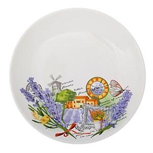 "Тарелка ""Лавандовое поле"" диаметр 19 см"