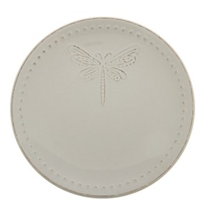 "Тарелка ""Стрекоза"" диаметр 20 см молочная"