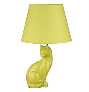 """Лампа настольная """"Кошка"""" желтая"""