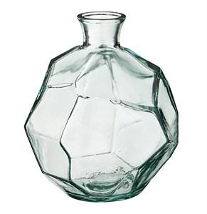 Ваза стеклянная многогранная