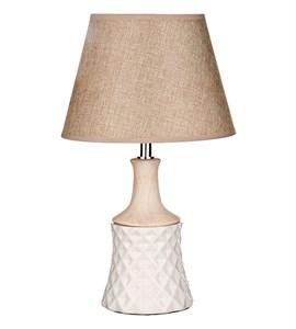 Лампа настольная с белым основанием