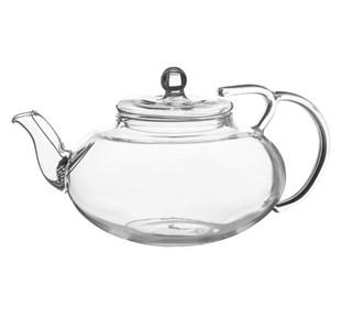 Чайник стеклянный заварочный 400 мл с ситечком