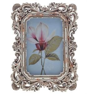 """Фоторамка """"Резные цветы"""" 10х15 см"""