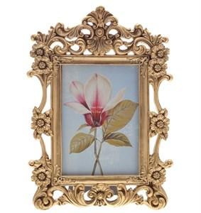 """Фоторамка """"Золотые цветы"""" 10х15 см"""