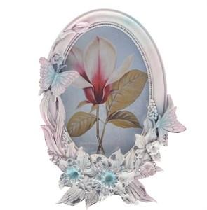 "Фоторамка ""Бабочки на цветах"" 10х15 см"