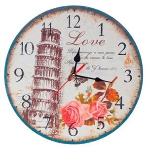 """Часы настенные """"Пизанская башня"""""""