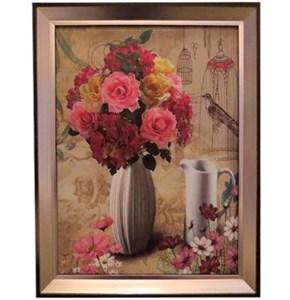 """Картина в раме """"Натюрморт с розами"""""""