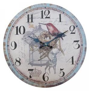 "Часы настенные ""Птица в клетке"""