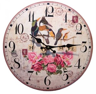 """Часы настенные """"Птицы на ветке"""""""