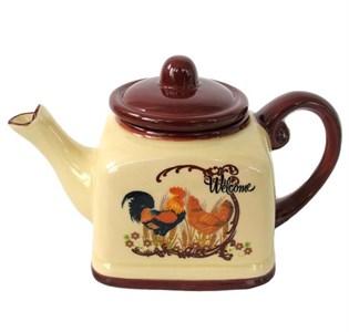 """Чайник керамический заварочный """"Кантри"""" 780 мл"""